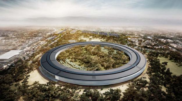 Apple's Spaceship Headquarters