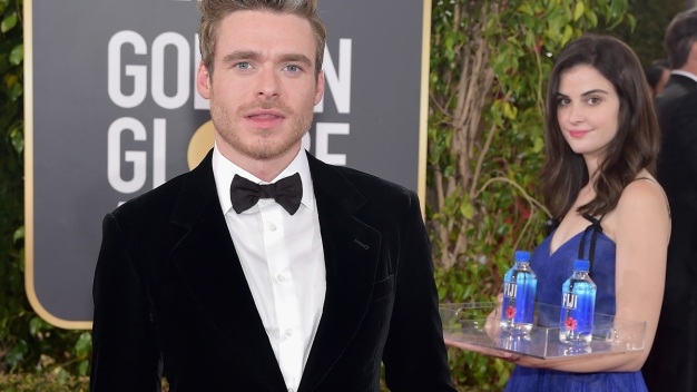 Fiji Water Girl Gets a 'Golden Globe' of Her Own