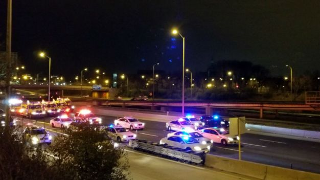 Lanes Reopen After Person Shot on I-290
