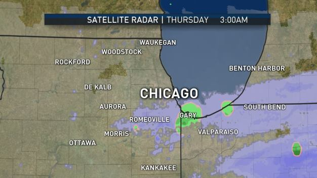 Likely Final Snow of the Season Hits Chicago Area