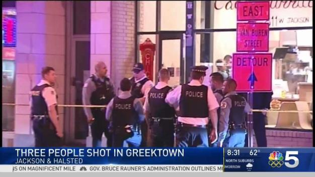 3 Shot During Fight in Greektown Restaurant