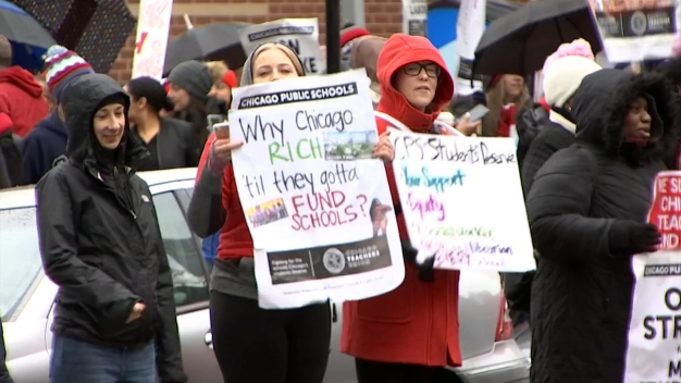 CPS Cancels Classes Wednesday as Teachers Strike Continues