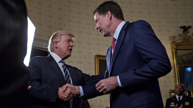 Trump Suggests He Was Trying to Keep Comey Honest
