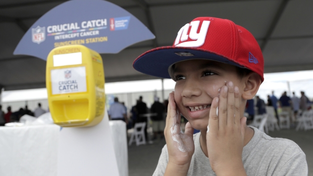 Any Given Sun Day: NFL Tackles Skin Cancer With Sunscreen Drive
