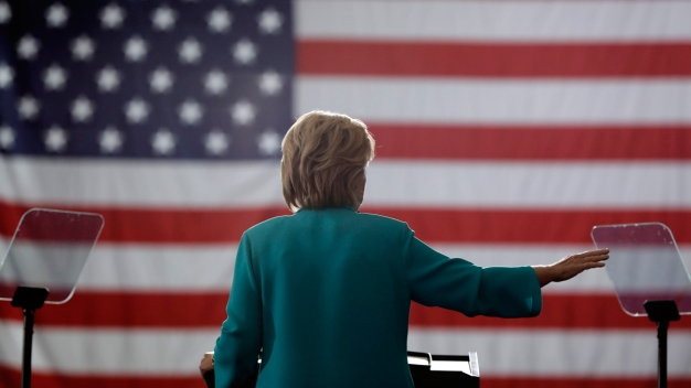 Clinton Says Controversies Behind Her; Trump Begs to Differ