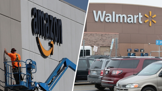 Amazon or Walmart? Some Retailers Are Choosing Alliances
