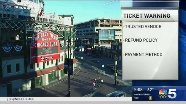 BBB Warns About Cubs Ticket Scams