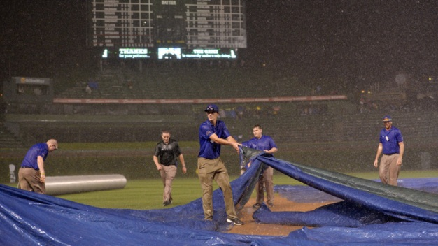 Cubs' Rain-Shortened Victory Overturned