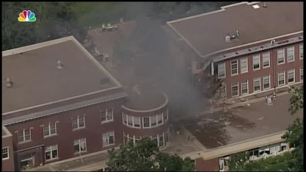 Explosion at Minneapolis School