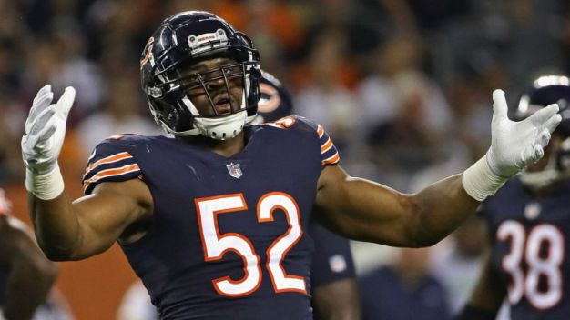 Mack, Robinson Listed as Questionable for Bears