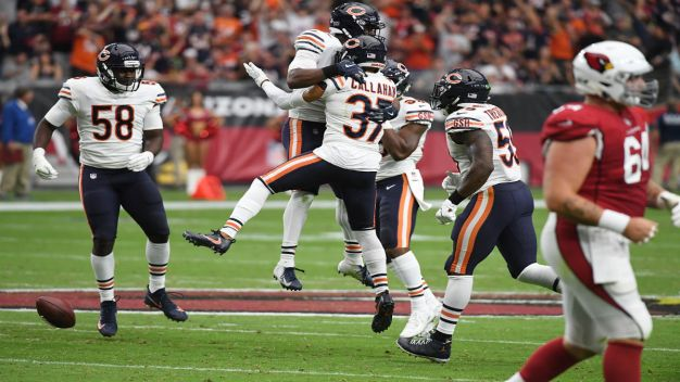 Bears Rally For 16-14 Victory Over Winless Cardinals