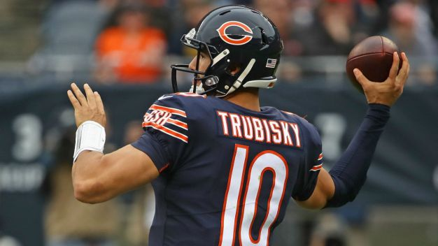 Trubisky's Special Cleats for Bears vs. Rams Game Revealed