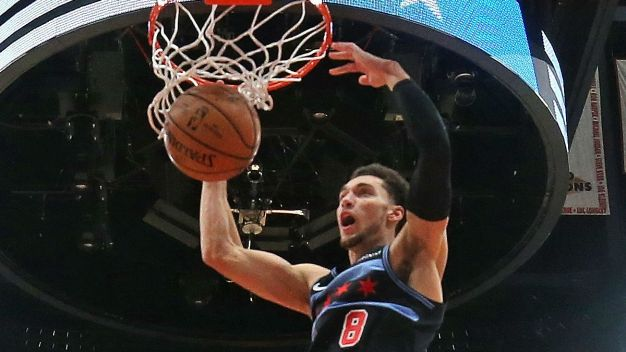 LaVine to Miss Several Games for Bulls With Ankle Injury
