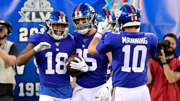 Bears vs. Giants: Preseason Week 2 in Photos