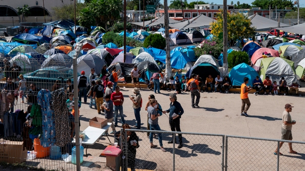 Health Dangers Emerge at Growing Migrant Camp on US Border<br /><br />
