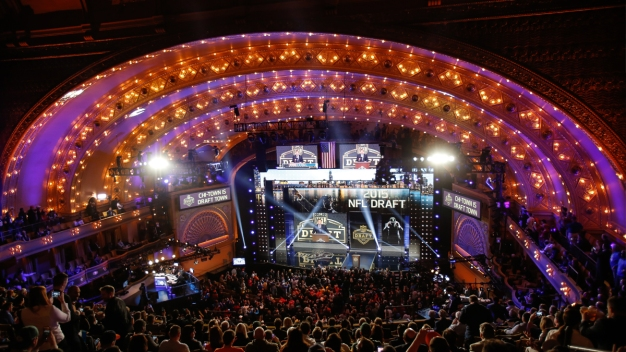 NFL Draft: Schedule of Events for Thursday in Draft Town
