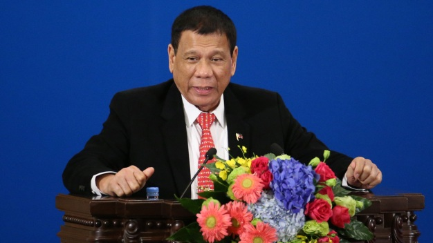 Philippines' Duterte Says Trump Wished Him 'Success'