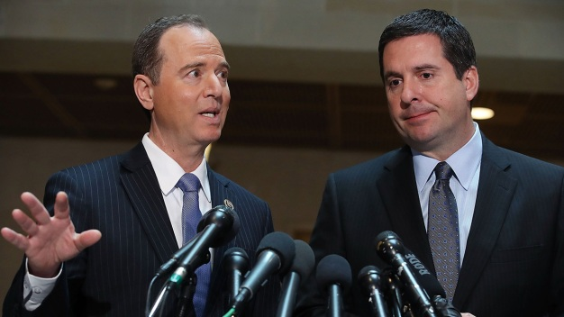 Schiff: Nunes Should Recuse Himself From Russia Probe
