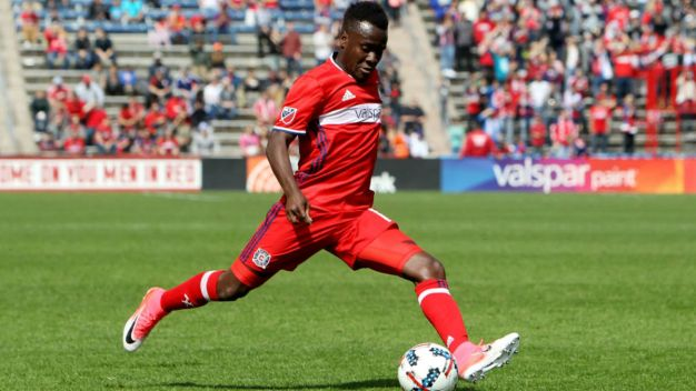 David Accam Scores Awesome Goal vs. Orlando