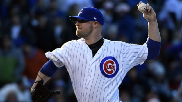Lester Tosses Gem as Cubs Best Giants at Wrigley