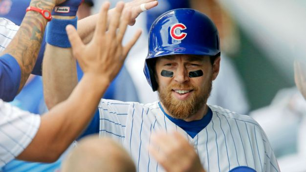 Bryant Clubs Two Homers as Cubs Blast Brewers