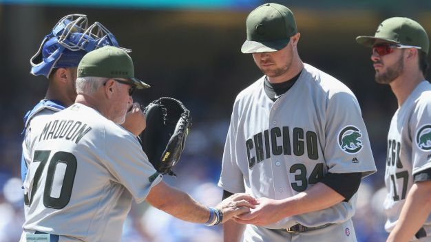 Lester, Kershaw Roughed Up as Cubs Fall to Dodgers