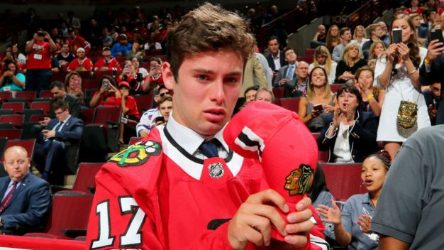 Blackhawks Pick Barratt, Mitchell on Draft's Second Day