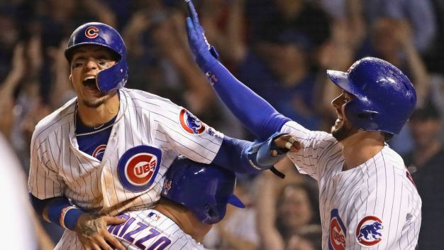 Baez Scores to Give Cubs Wild Victory