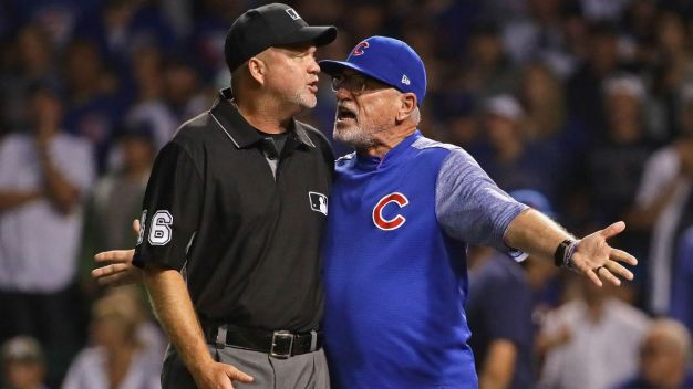 Maddon Blasts Umpire's Decision as 'Asinine' After Ejection