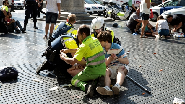 Photos: Deadly Terrorist Attacks in Barcelona, Cambrils