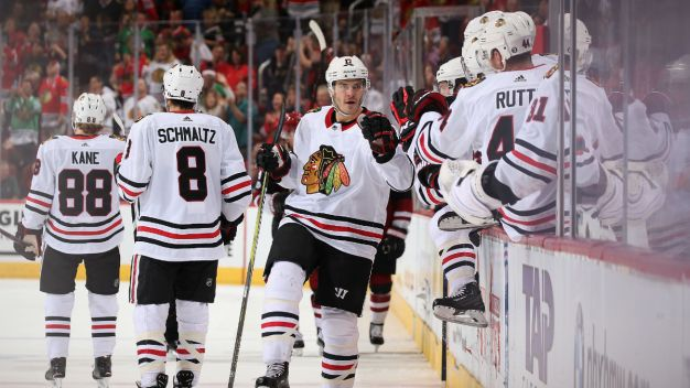 Three Stars: Wingels, Toews Stand Out in Blackhawks' Win