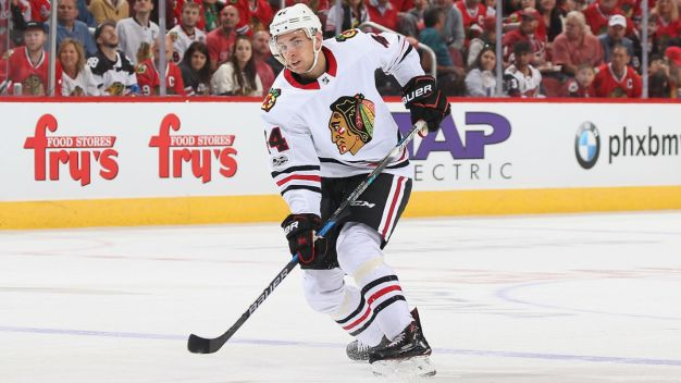 Franson, Rutta Both Miss Practice for Blackhawks
