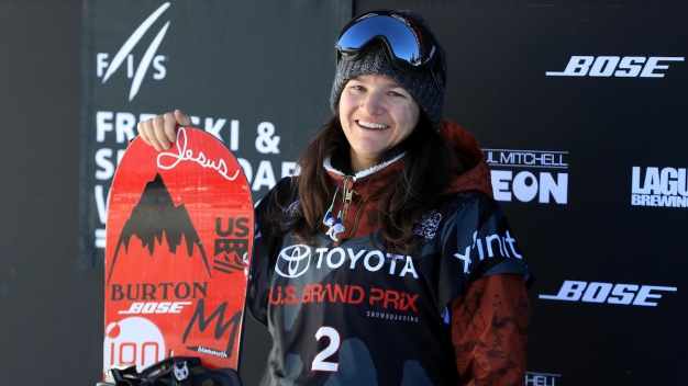Kelly Clark Wins on Halfpipe to Seal Trip to 5th Olympics