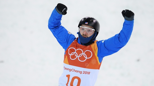American Enters Aerials Final With High Score