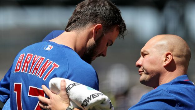 Kris Bryant to Miss Third Straight Game for Cubs