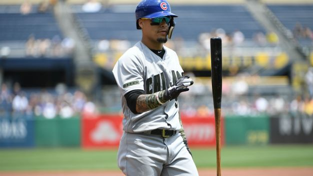 Baez Leaves Game After Being Hit by Pitch