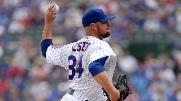 Jon Lester Wins 5th Straight, Cubs Beat Dodgers 4-0
