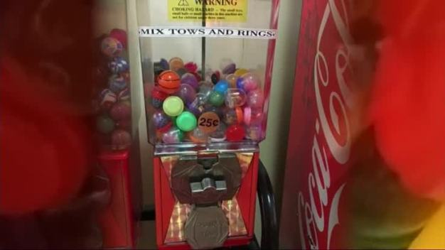 Girl Gets Blood Pressure Pills From Gumball Machine