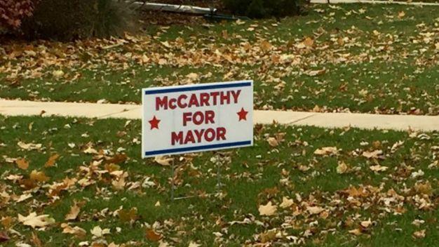 Signs Pop Up as McCarthy Mulls Mayoral Run
