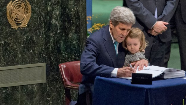 175 Countries Sign Landmark Paris Deal on Climate Change