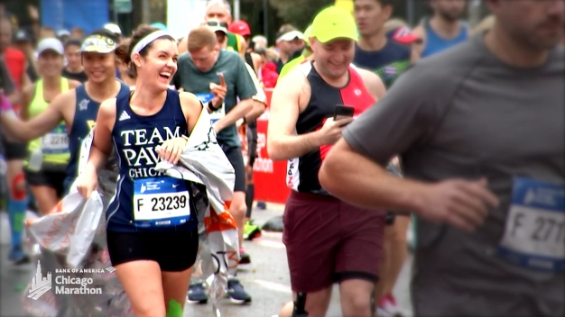 Marathon Moments: Running for Charity