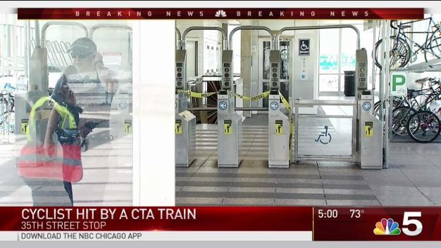 Man Fatally Struck by CTA Train After Fall From Bike