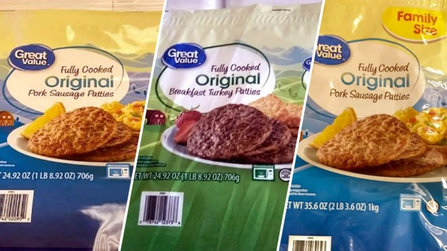 USDA Recalls Sausage Patties for Salmonella Risk