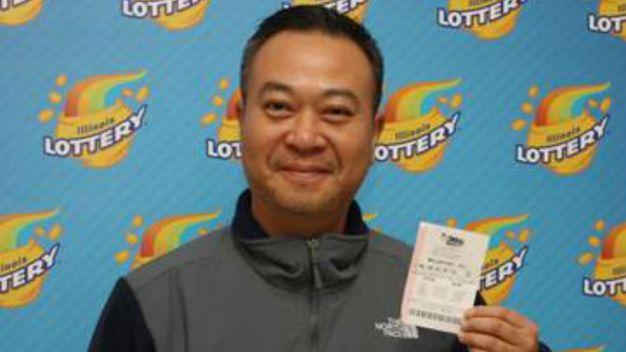 Naperville Man Wins $40K Lottery Prize
