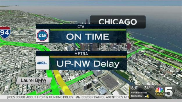 Black Ice Causes Series of Crashes in Chicago Area