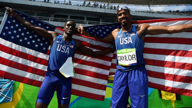 Day 11: Florida's Taylor, Claye Win Gold, Silver Again
