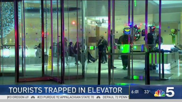Tourists Freed After Hours in Ex-Hancock Building Elevator