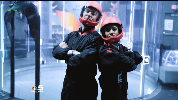 Watch 'Chicago Today' Hosts Try Indoor Skydiving