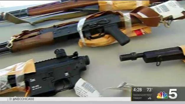 Chicago Police Have Recovered 5K Guns So Far This Year