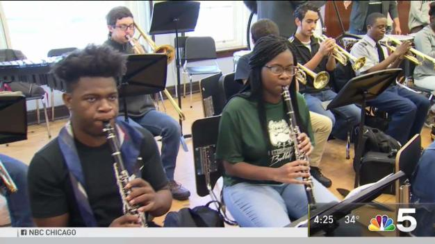 North Side Music Teacher Wins $60K for New Instruments for Kids